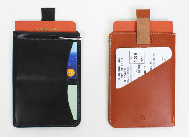 Bellroy Leather Passport Sleeve Wallet