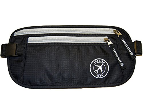 Landing Gear RFID Safe Money Belt Hidden Waist Stash