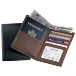 Royce Leather Passport & Currency Wallet