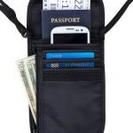 Travel Navigator Neck Wallet