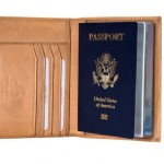 Visconti Leather Passport Cover Wallet Polo 2201