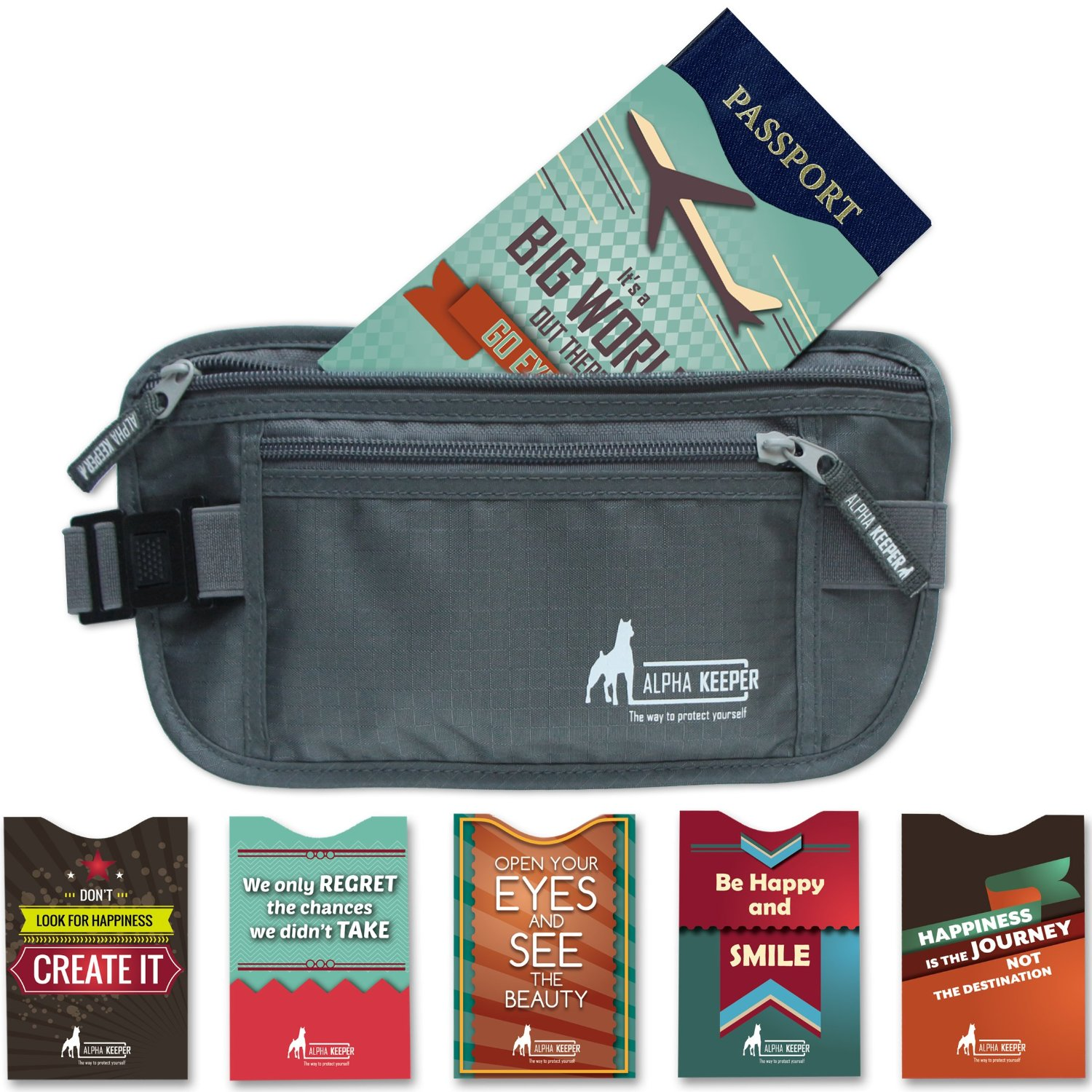 Review Alpha Keeper Money Belt Travel Wallet Expert
