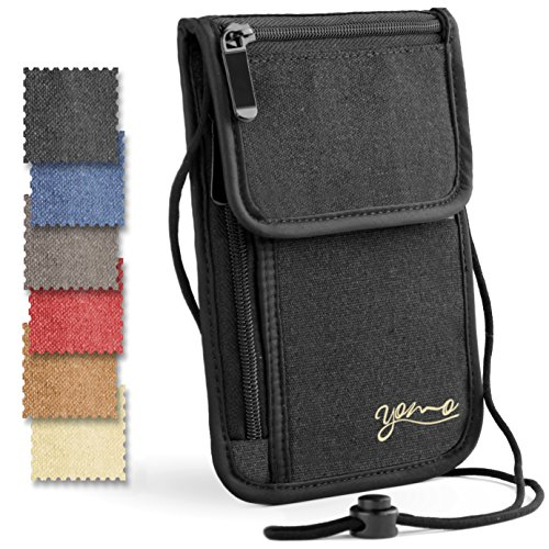 0fd188d8713 REVIEW - YOMO RFID Neck Passport Holder 2016 - Travel Wallet Expert