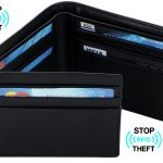 Travelambo RFID Leather Bifold/Trifold Wallet
