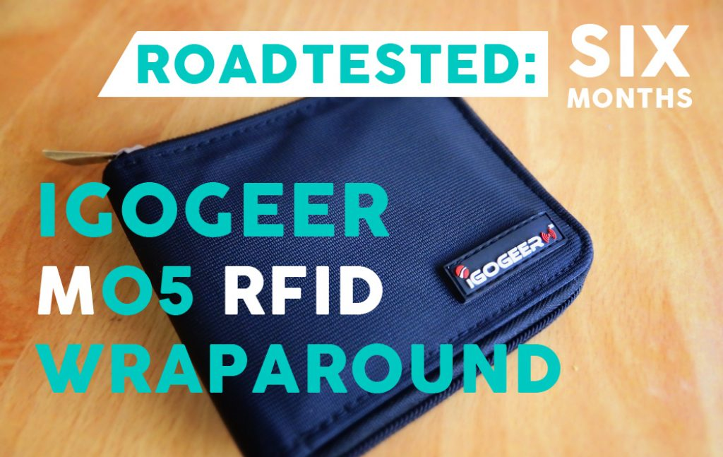 IGOGEER M05 RFID Travel Wallet