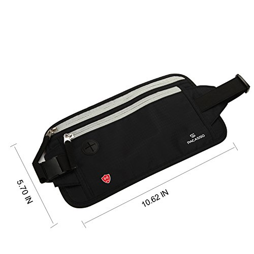 Pacasso RFID Blocking Money Belt