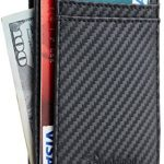 Travelambo Minimalist RFID Leather Slim Wallet