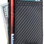 Travelambo Minimalist RFID Leather Slim Wallet