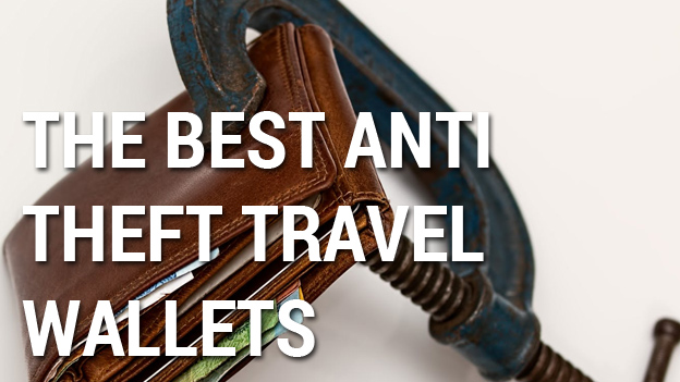 anti theft travel wallet