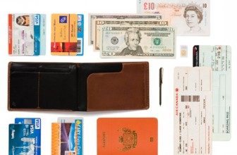 REVIEW – Bellroy Leather Travel Wallet