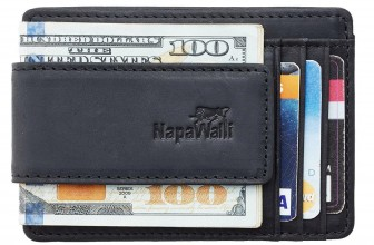 REVIEW – NapaWalli Magnetic Leather Money Clip Wallet