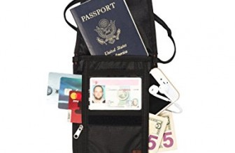 REVIEW – Tarriss RFID Blocking Neck Stash & Passport Holder
