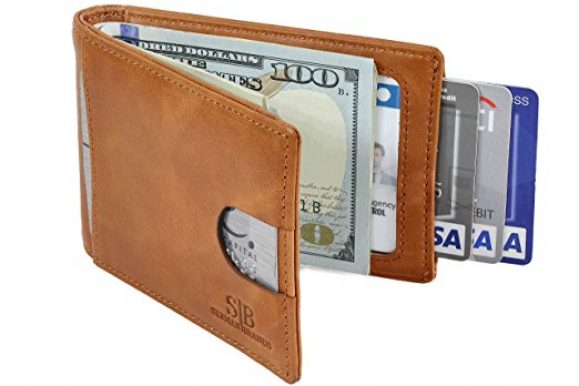 REVIEW – SERMAN BRANDS RFID Leather Money Clip 1.0